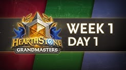 Hearthstone Grandmasters Season 1 - Week 1 Day 1