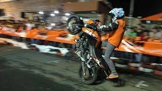 KTM RC 200 | KTM Duke 200 | KTM Stunt Show 2017 | New Awesome Stunts