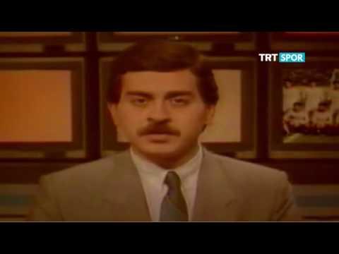 20 ocak 1989 Trafik kazasında hayatını kaybeden Futbolcular Anısına TRT SPOR