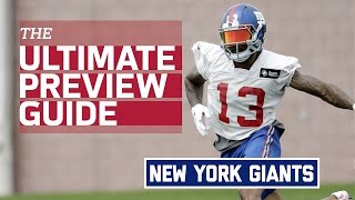 New York Giants 2016 Team Preview (Infographic) | NFL