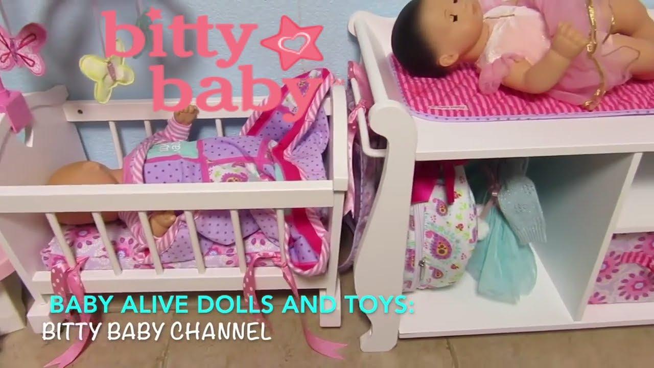 Bitty Baby Channel Favorites Bitty Baby High Chair Crib