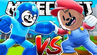 THIS CHARACTER IS BETTER THAN MARIO - MINECRAFT SUPER SMASH BROS MINIGAME