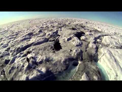 Greenland: Double Moulin from UAV