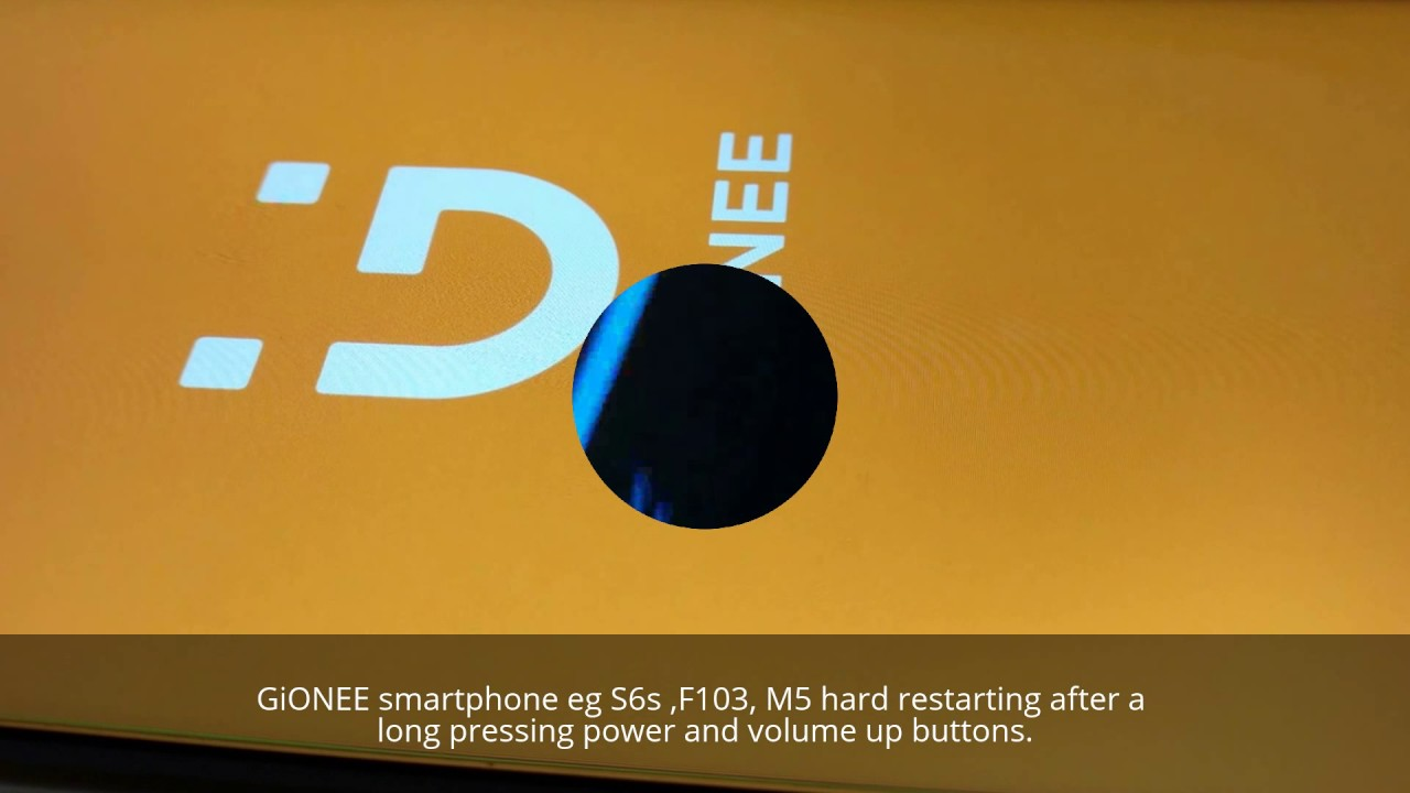 How to hard reset GiONEE Smartphones? Factory reset GiONEE S6s, F103, M5