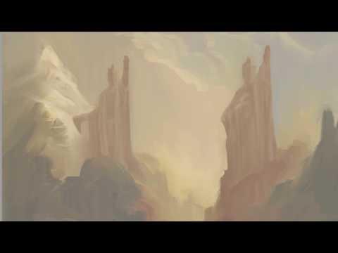Argonath from LOTR – Digital Painting Tutorial