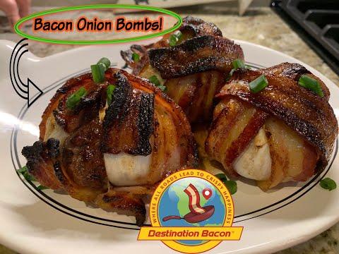 Bacon Onion Bombs