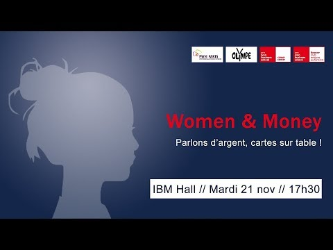 CONFERENCE : «Women & Money: parlons d'argent, cartes sur table!»