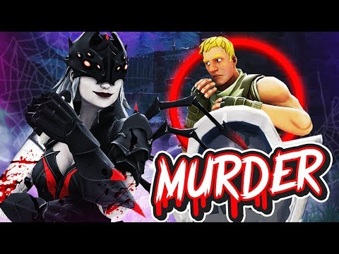 *NEU* PSYCHO vs UNSCHULDIGE in FORTNITE Murder Modus