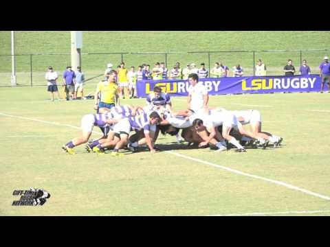LSU Rugby vs. University of Texas Rugby (10/29/2016)