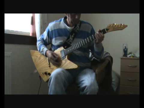 Satellite sex pistols guitar cover
