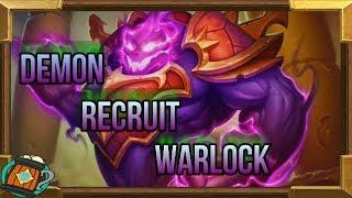 Hearthstone : Deck Tech Demon Recruit Warlock Kobolds and Catacombs