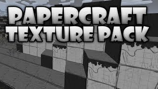 Minecraft: Texture Pack Review - PaperCraft! (HD)