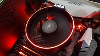AMD Ryzen 7 1700 CPU Unboxing - CPU and Wraith Cooler Flatness