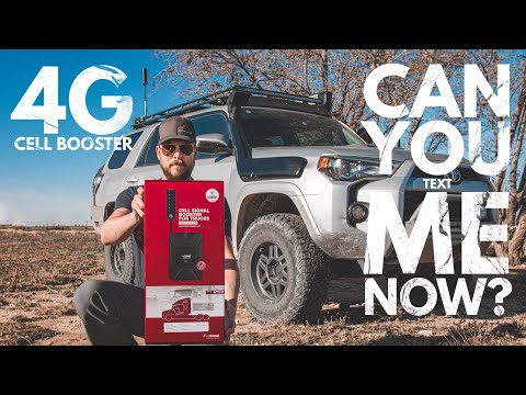 WeBoost 4G LTE Cell Signal Booster - Unboxing & First Impressions