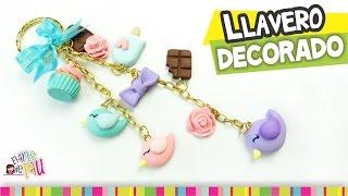 FÁCIL✔ Llavero Decorado / Decorated Keychain