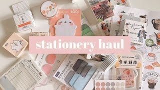 a smol stationery haul