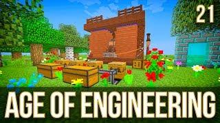 Tree Breeding & Auto Miner | Age of Engineering | Episode 21