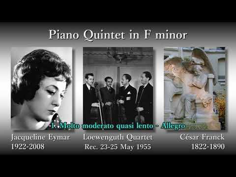 Franck: Piano Quintet, Eymar & LoewenguthQ (1955) フランク ピアノ五重奏曲 エマール&レーヴェングート