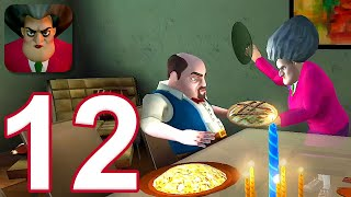 Scary Teacher 3D - Gameplay Walkthrough Part 12 - Valentine's Special (iOS)