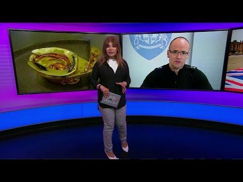 سرقة مرحاض من الذهب الخالص من أحد القصور البريطانية، والشرطة تبحث عن اللصوص  - 18:55-2019 / 9 / 16