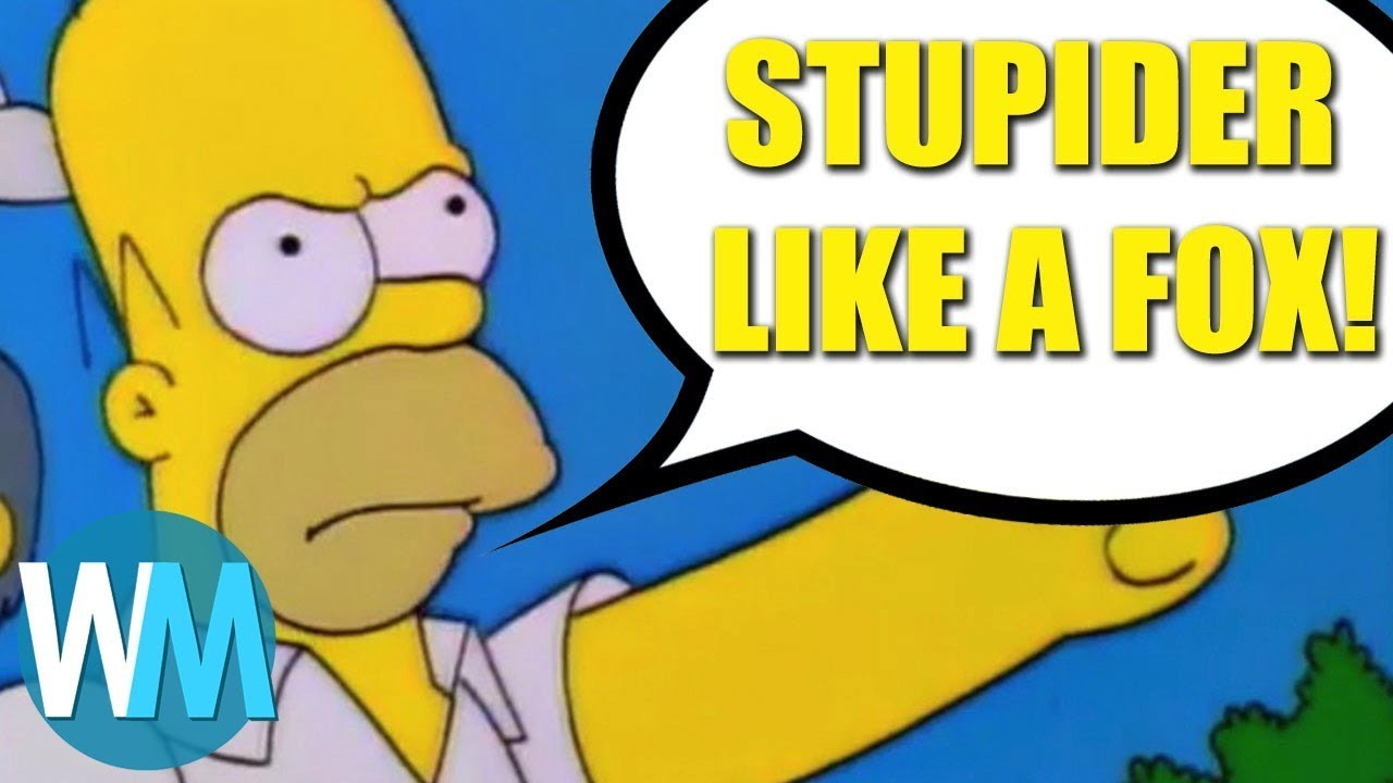 Wonderful Top 10 Funniest Homer Simpson Quotes