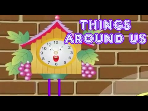 Things Around Us In The House | Kids Interactive Videos | Part 2 ...