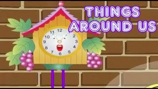 Things Around Us In The House | Kids Interactive Videos | Part 2 Animated