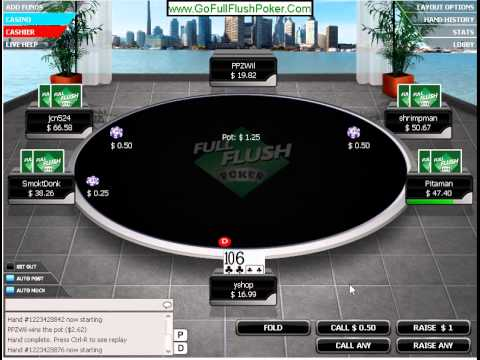 No limit Texas Hold 'em Poker Online part 5 real money