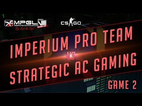 Imperium Pro Team vs Strategic Gaming - Mineski Pro Gaming League S8 CS:GO - Game 2 [Week 3]