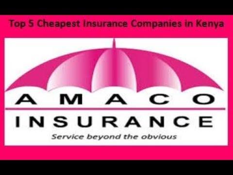 Top 5 Cheapest Insurance Companies In Kenya
