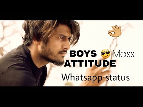 Attitude WhatsApp Status For Boys || Mass Attitude