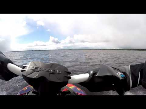 Sea-Doo Sparks modified and acceleration testing