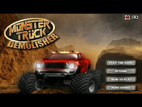 Monster Truck Demolisher Racing Car Games Monster Truck Games