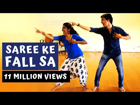 Saree Ke Fall Sa | The Crew Dance Company Choreography | R...Rajkumar | Dance Cover