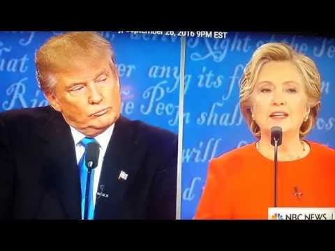 First presidential debate Donald Trump and Hillary clinton - Rosie O'Donnell