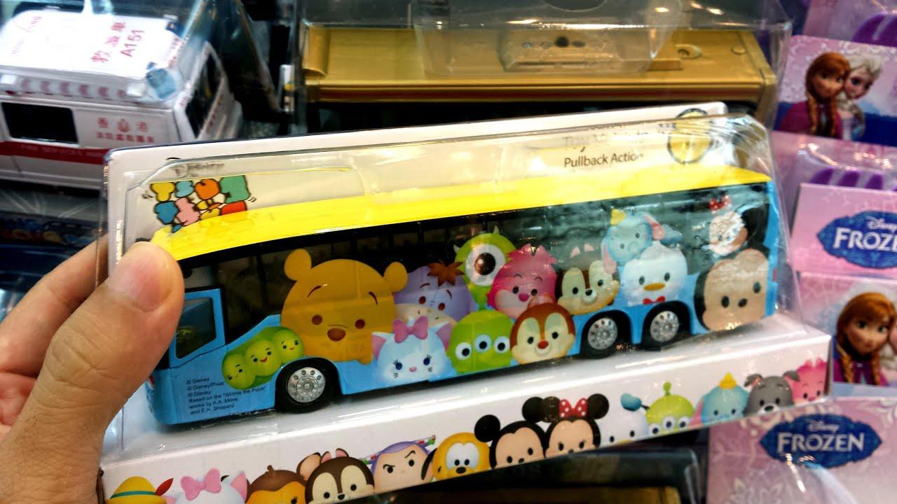 Disney Tsum Tsum Toy Bus & Mickey Mouse Monster University Toys ...