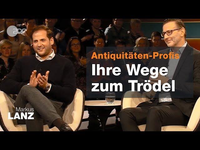 Julian und Detlev über den Erfolg von Bares für Rares - Markus Lanz vom 14.02.2019   ZDF