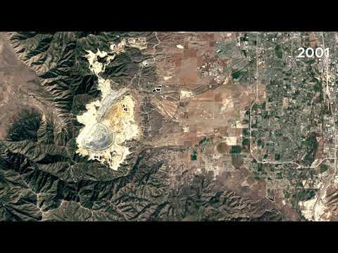 Kennecott Copper Mine SLC, Utah