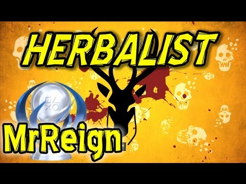 How To Survive - Herbalist - Trophy Achievement Guide