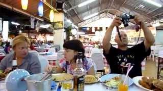 Таиланд  о.Пхукет (02.03.11) Па Тонг - ужин при свечах