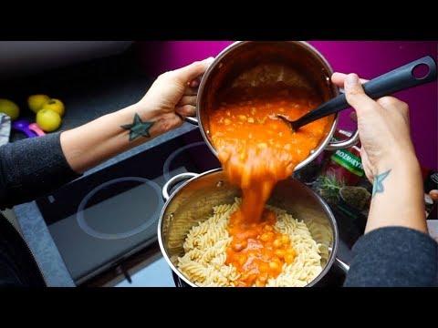 Creamy Sweet Potato Pasta / Simple Vegan Recipe