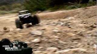 Load Video 1:  Axial Wraith™ 1/10 Scale Electric 4WD Rock Racer