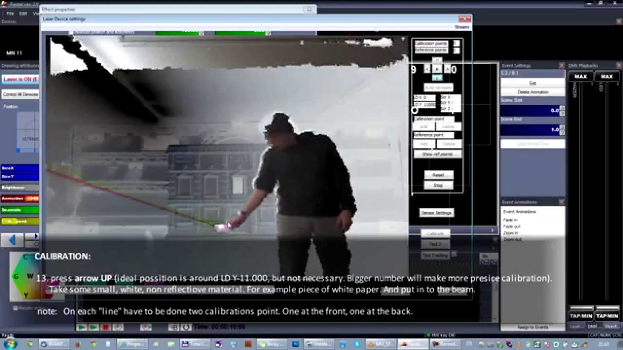 "Kvant Interactive Laserman ""Tutorial Video"""