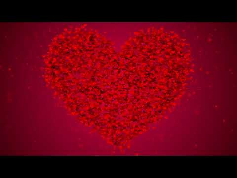 red-heart-background  romantic-heart-background  -no-copyright-love-background  -motion-background