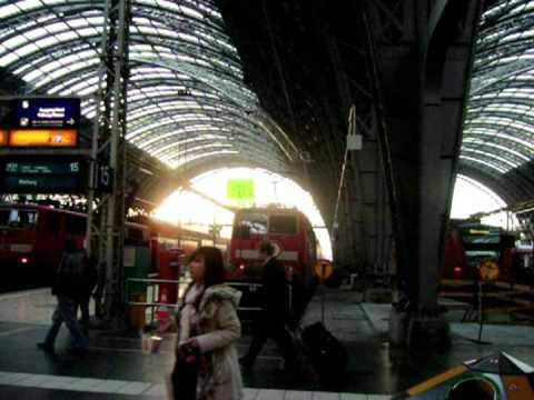 Trans-Siberiana 1 - Chegada Em Frankfurt