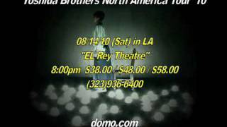 Yoshida Brothers perform on August 14th at El Rey Theatre, Los Ange...