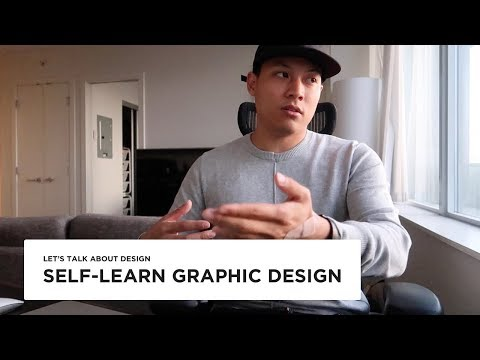 Self taught graphic designer - Complete study guide in 7 ste