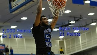 Ryan Harrow Highlights vs A State 21 Points (1,000 Points in 2 Years at GSU)