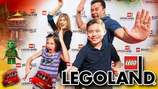 Repeat youtube video NINJAGO WORLD!!! LEGOLAND Florida Adventure!
