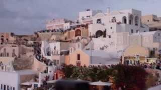 Аплодисменты Закату на Санторини(, 2014-01-18T16:39:51.000Z)